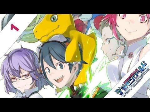 Digimon World Re:Digitize ENGLISH Let's Play Walkthrough Part 1 - My partner Agumon!