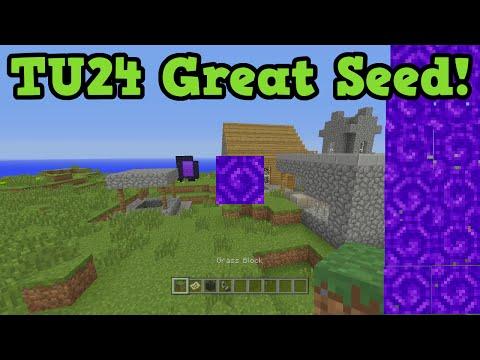 Minecraft Xbox 360 PS3 TU24 Seed - Instant Nether Portal + Achievements