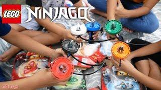 Trò Chơi LEGO NINJAGO Cao Thủ Lốc Xoáy Cùng Đại Nghĩa Và Hồng Anh - Spinjitzu Masters' Awesome Trick