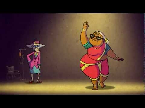 Jumpin: Nani Vs Naani, The Dance-off (funny Grandma Animation Video) video