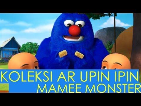 Kad Koleksi AR Upin & Ipin bersama Mamee Monster