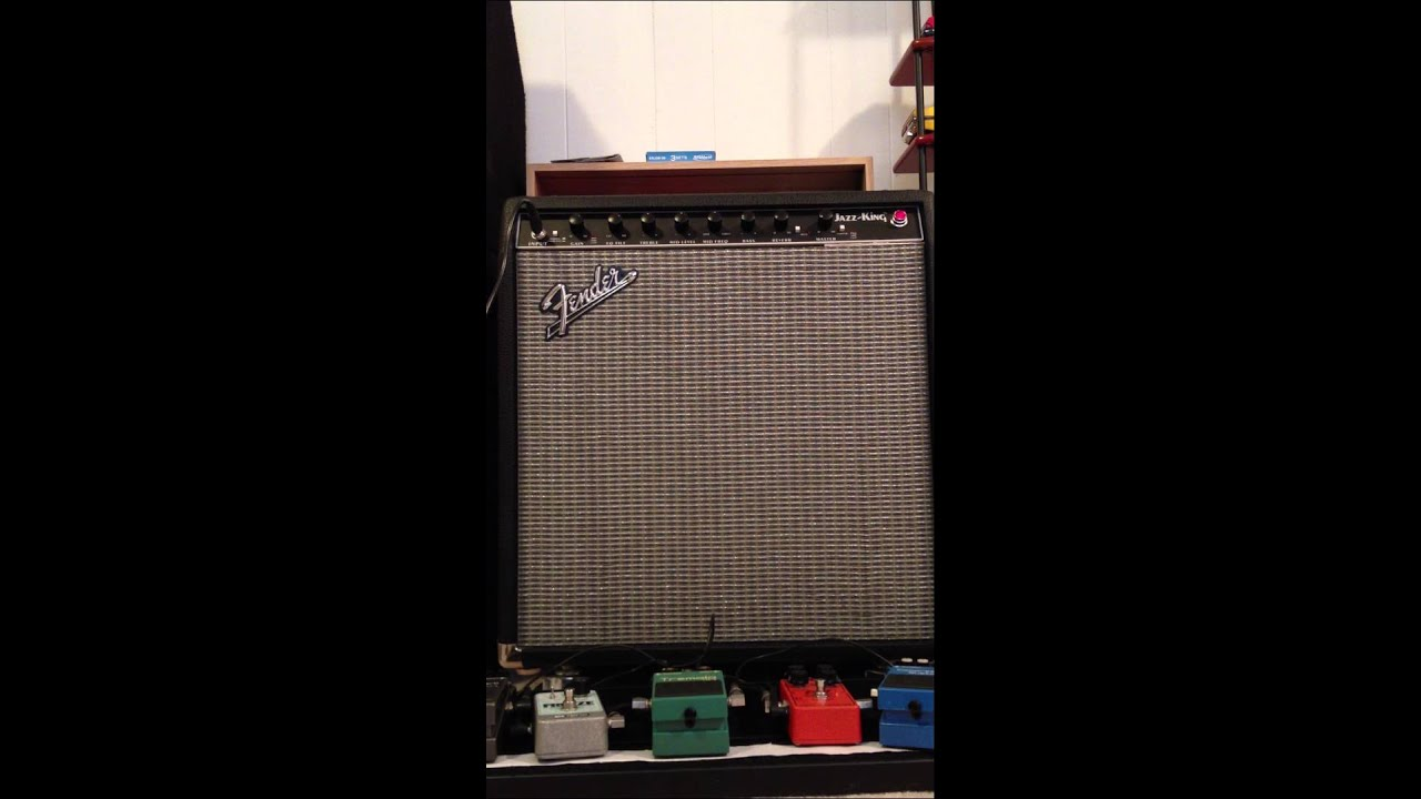 Fender Jazz King Amplifier Demo 5 With Mexican Std