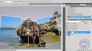 Как сделать в фотошопе cs5 коллаж
