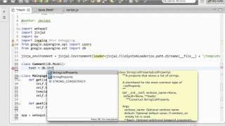 Web Development: Google App Engine and Javascript