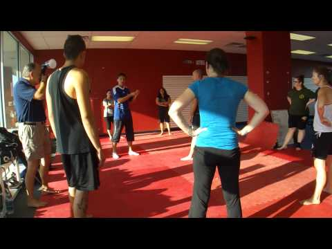 Savate Distance Warm Up with Nicolas Saignac.MP4 Image 1