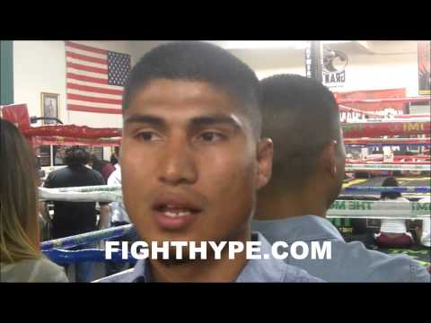 MIKEY GARCIA STILL HOPES TO MAYBE RENEGOTIATE CONTRACT WITH TOP RANK DESPITE LAWSUIT