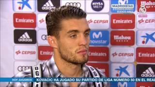 Declaraciones Mateo Kovacic Real Madrid 4 1 Sevilla  Liga Jornada 37 14 05 2017