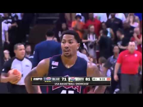 Paul George's Injury (Breaks Leg During Team USA Practice ESPN) - 08/02/2014
