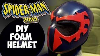 Spiderman 2099 foam cosplay helmet NewAir QuietHeat15