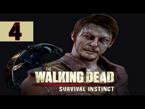 The Walking Dead Survival Instinct Gameplay Walkthrough Part 4 - Toilet Death - Lets Play Comm