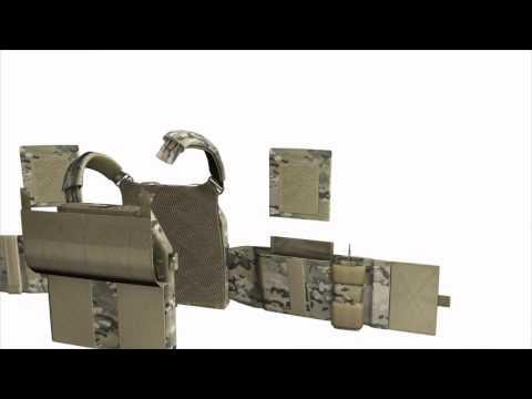 Warrior Assault System DCS Plate Carrier MultiCam