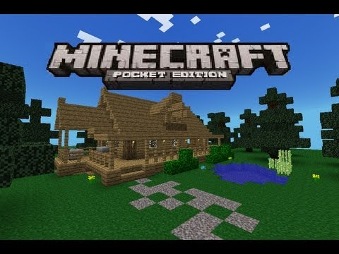 How To Build A Wooden House In Minecraft Pe