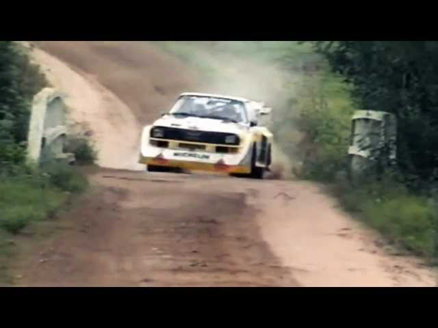 INSANE Audi Quattro Sport S1 1000 Lakes Group B Rally ...