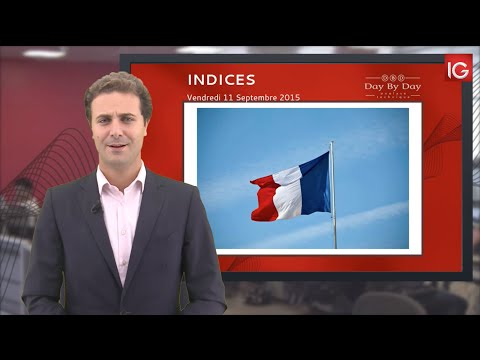 Bourse - CAC, en direction du support - IG 11.09.2015