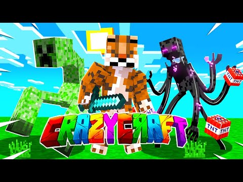 How to Download CRAZY CRAFT 4.0 MOD PACK on Minecraft Xbox One! Tutorial (New Working Method) 2021