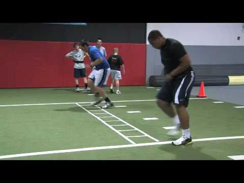 Coach Doyle Offensive Line drills for football agility 4-28-11