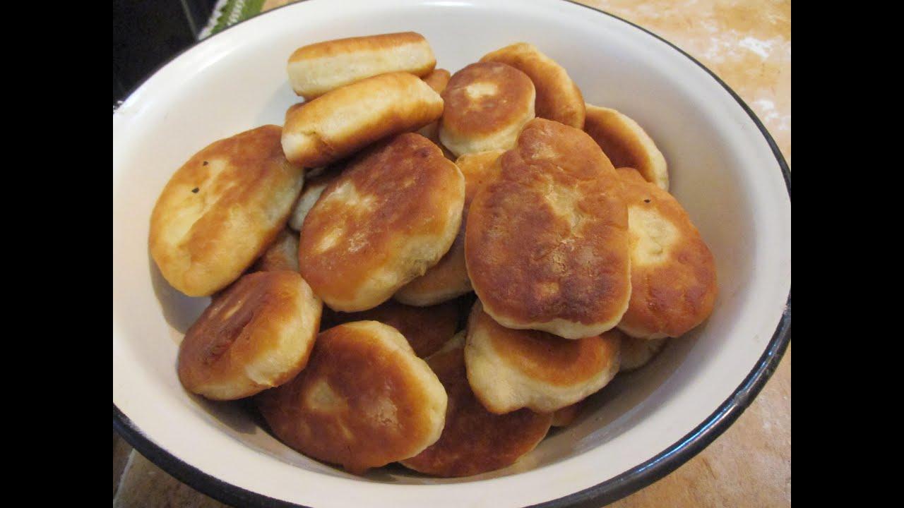 Рецепт пирожков с яблоками на сковороде пошагово