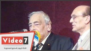 """جميل راتب لمحمد صبحى:""""ربيتك كويس يا واد يا ونيس..وتستحق لقب أبو الفقراء"""""""