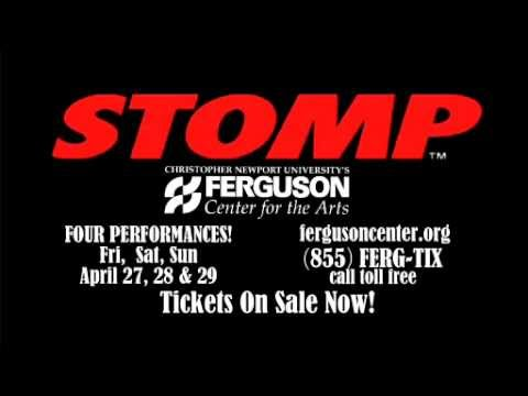 STOMP at the Ferguson Center for the Arts