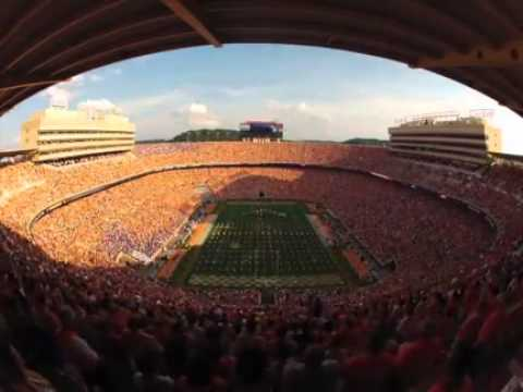 Time-lapse video of Neyland Stadium during Vols' game