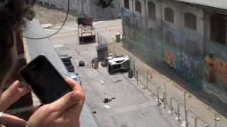 Thumb Video de la filmación de Transformers 3: Y el auto quedó destruido