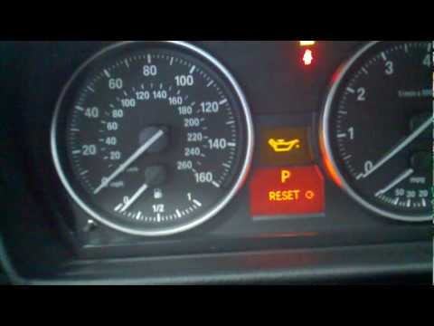 BMW 3 Series E90 Oil Service Reset. Reset Service Light DIY Full Reset Procedure