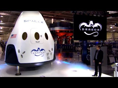 Dragon V2 Unveiled By SpaceX