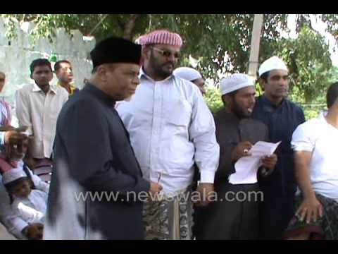 Newswala : Burma, Myanmar Refugees at Balapur Dargah, Hyderabad, India.