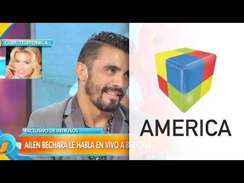 Ailén Bechara y Fernando Bertona se reconciliaron en vivo: Nos extrañamos
