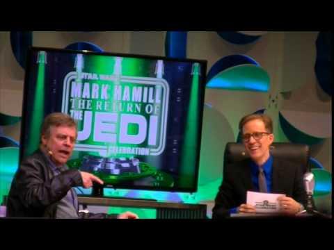 Mark Hamill Return Of The Jedi Star Wars Celebration 2015 Panel
