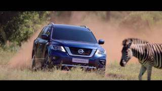 The New Nissan Pathfinder 2018. The Greatest Adventure Ever Driven.