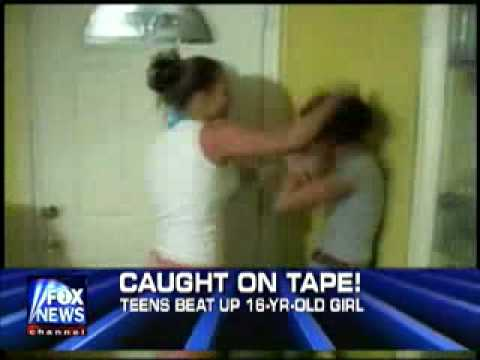 Fox News: Eight Teenagers Invite Girl Over And Beat Her video