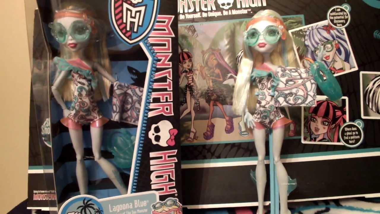 Monster High Lagoona Blue Swim Doll Monster High Swim Doll Lagoona