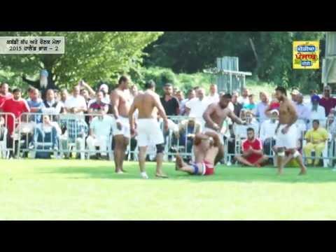 Holland Kabaddi Cup & Ronak Mela  2015 Part - 2 (Media Punjab TV)