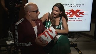 Vin Diesel sorprende a Deepika Padukone por su cumpleaños