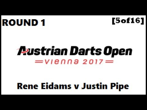 Austrian Darts Open 2017 HD - Round 1 [5of16]: Rene Eidams v Justin Pipe