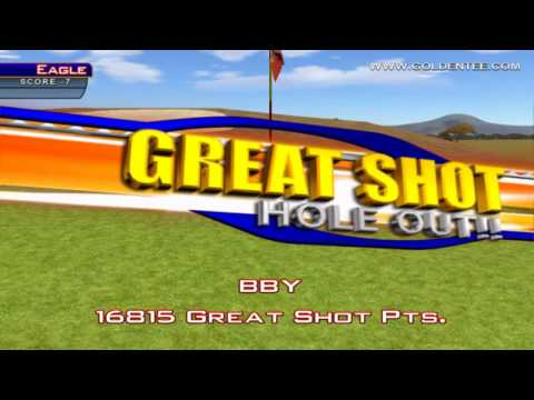 Golden Tee Great Shot on Grand Savannah!