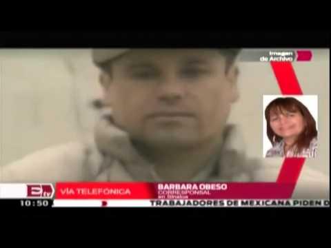 Detienen a Joaquín el Chapo Guzman 22 de febrero 2014 , en Mazatlan   Captura del Chapo Guzmán