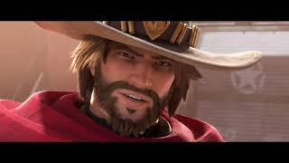 "Overwatch | McCree ANIMATED SHORT ""Reunion"" 