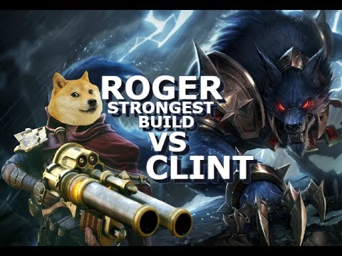 Roger Strongest Marksman? Roger vs Clint Mobile Legends - Build - Giveaway - Rank - Tips - Guide