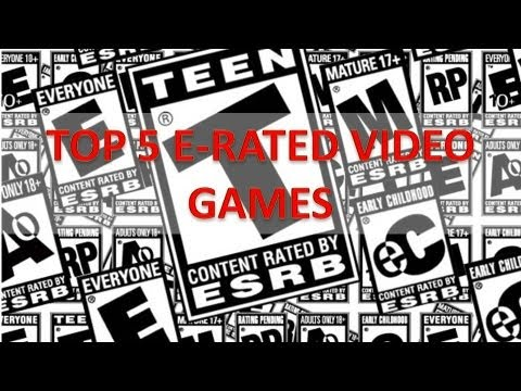 Top 5 E-Rated Video Games - YouTube
