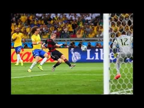 Brazil vs Germany • Fifa Worldcup 2014•All records•Semi-Final !!