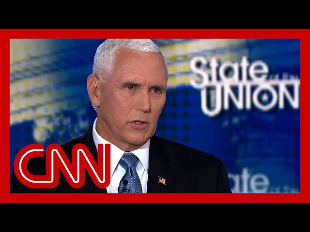 Pence says Trump moving forward with Iran sanctions