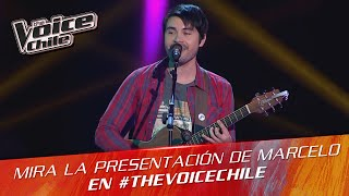The Voice Chile | Marcelo Peña - Como quisiera decirte