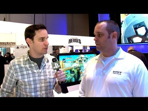 2011 CES: PlayStation Move Heroes Interview