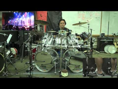 Bellas Finals from Pitch Perfect Drum Cover by Myron Carlos