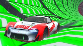GTA 5 ONLINE DLC - CRAZY NEW IMPOSSIBLE STUNT RACES! (GTA 5 DLC GAMEPLAY)