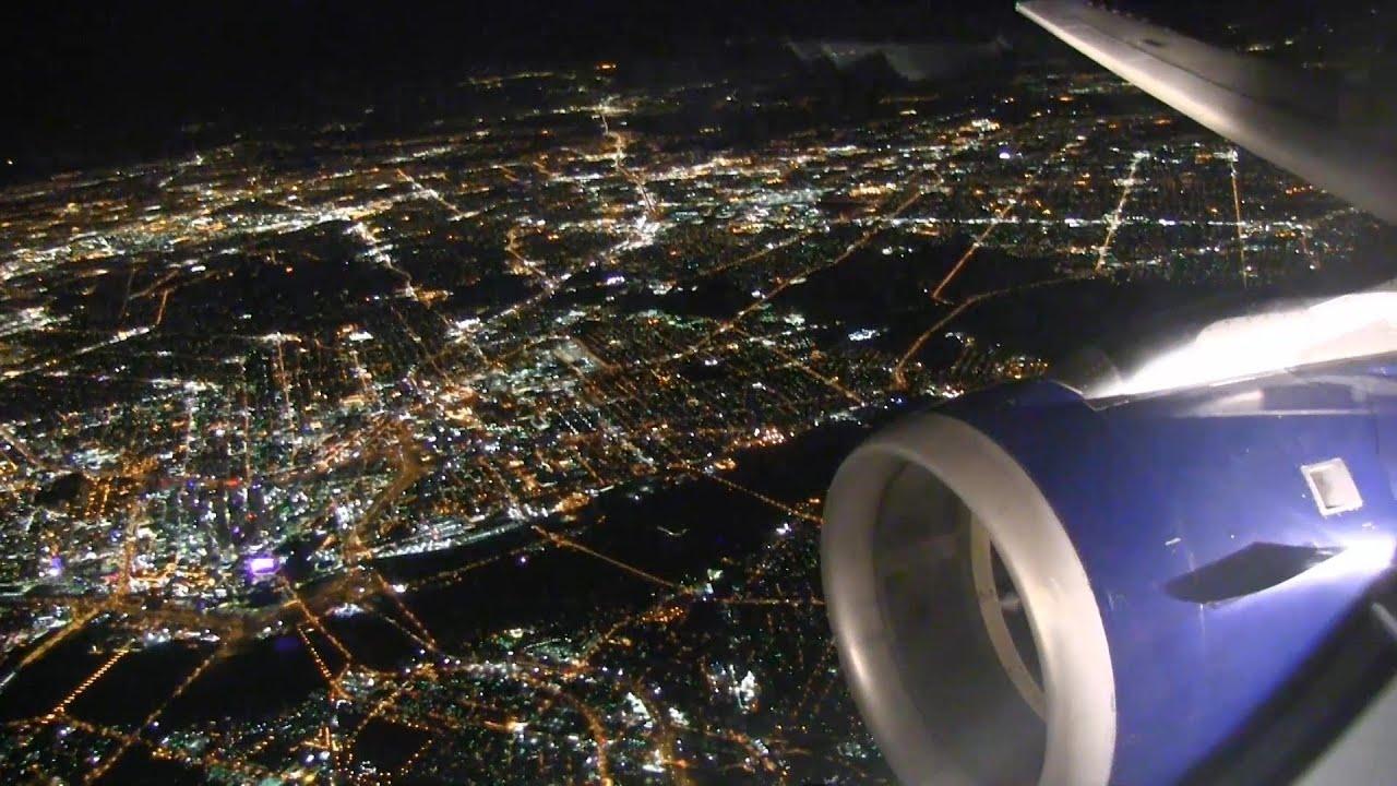 Amazing Airplane Landings Amazing Night Landing at