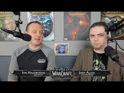 Battle for Azeroth Live Developer Q&A - 1/30/2018