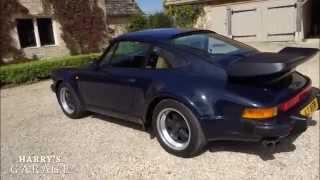 Porsche 911 turbo drive and review. The legendary '80s Porsche 930